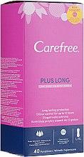 Profumi e cosmetici Assorbenti quotidiani igienici 40 pezzi. - Carefree Plus Long