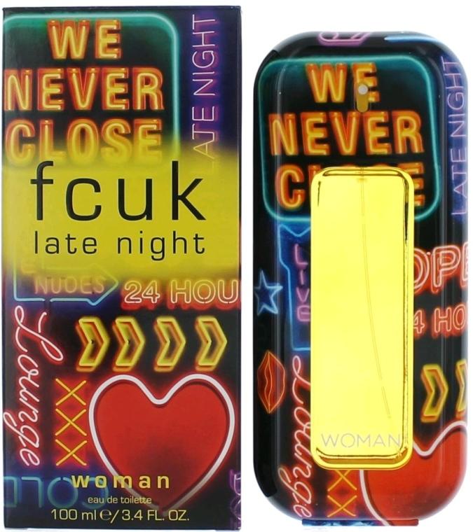 FCUK Late Night Her - Eau de toilette  — foto N3