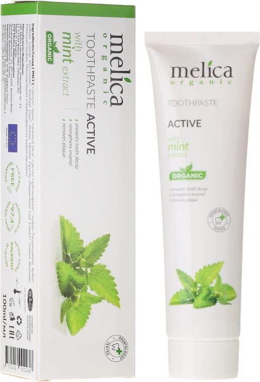 Dentifricio con estratto di menta - Melica Organic