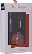 Profumi e cosmetici Set - IsaDora Bronzing Travel Kit (bronzer/3.8g + mascara/3ml + brush/1pcs)
