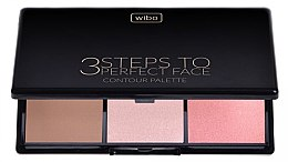 Profumi e cosmetici Set per contorno viso - Wibo 3 Steps to Perfect