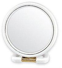 Profumi e cosmetici Specchio cosmetico, 5046, bianco - Top Choice