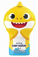 Profumi e cosmetici Gel doccia shampoo 2D - Air-Val International Baby Shark Shower Gel & Shampoo 2D
