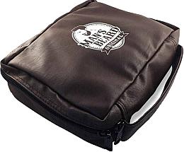 Profumi e cosmetici Beauty case, da viaggio, da uomo, pelle sintetica, MB212 - Man's Beard Men's Toiletry Bag Synthetic Leather Brown
