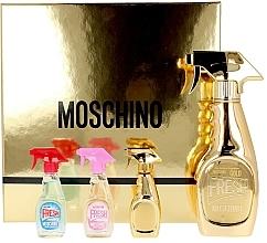 Profumi e cosmetici Moschino Fresh Couture - Set (edp/50ml + edt/2x5ml + edp/5ml)
