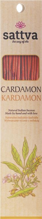 """Bastoncini di incenso """"Cardamomo"""" - Sattva Kardamon"""