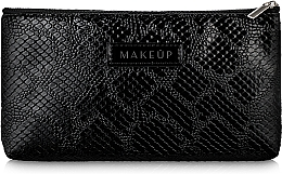 """Profumi e cosmetici Beauty case nero, piatto, """"Black Snake"""" - Makeup"""