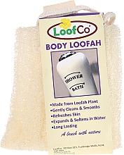 Profumi e cosmetici Spugna naturale corpo - LoofCo Body Loofah
