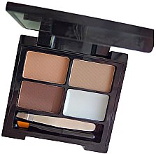 Set pe le sopracciglia - Makeup Revolution Focus & Fix Brow Kit — foto N2