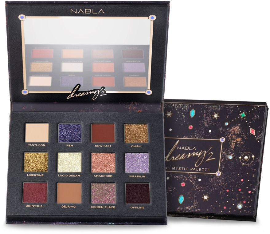 Palette ombretti - Nabla Dreamy 2 The Mystic Palette