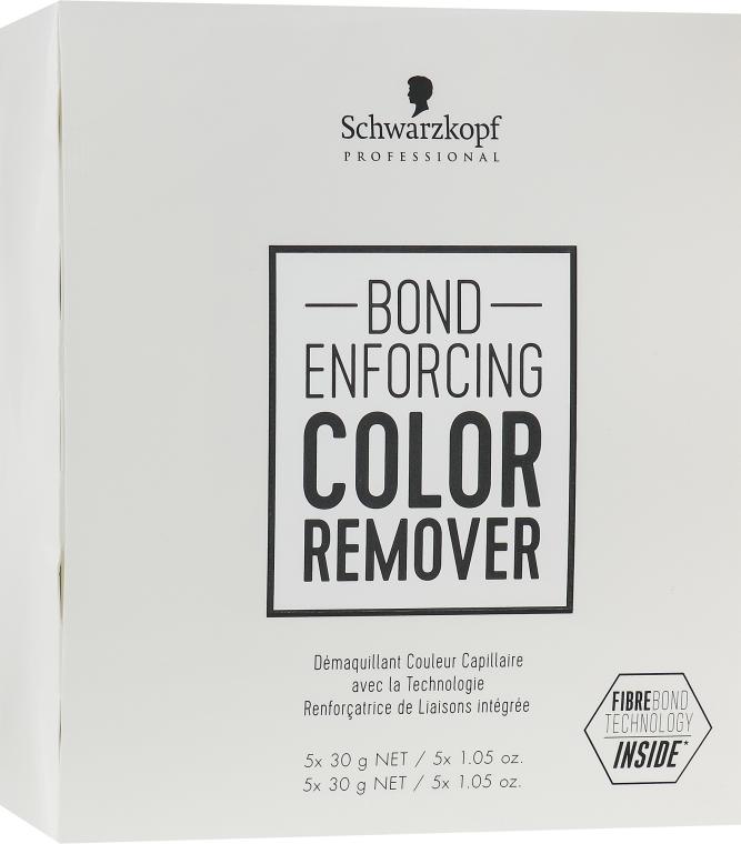 Lozione per rimuovere il pigmento artificiale dai capelli - Schwarzkopf Professional Bond Enforcing Color Remover