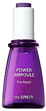 Profumi e cosmetici Siero viso nutrimento e idratazione - The Saem Power Ampoule Pro-nutri