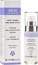 Profumi e cosmetici Siero viso rassodante e levigante - Ren Keep Young and Beautiful Smoothing Serum
