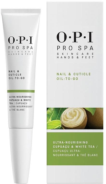 Olio per unghie e cuticole - O.P.I. ProSpa Nail & Cuticle Oil To Go