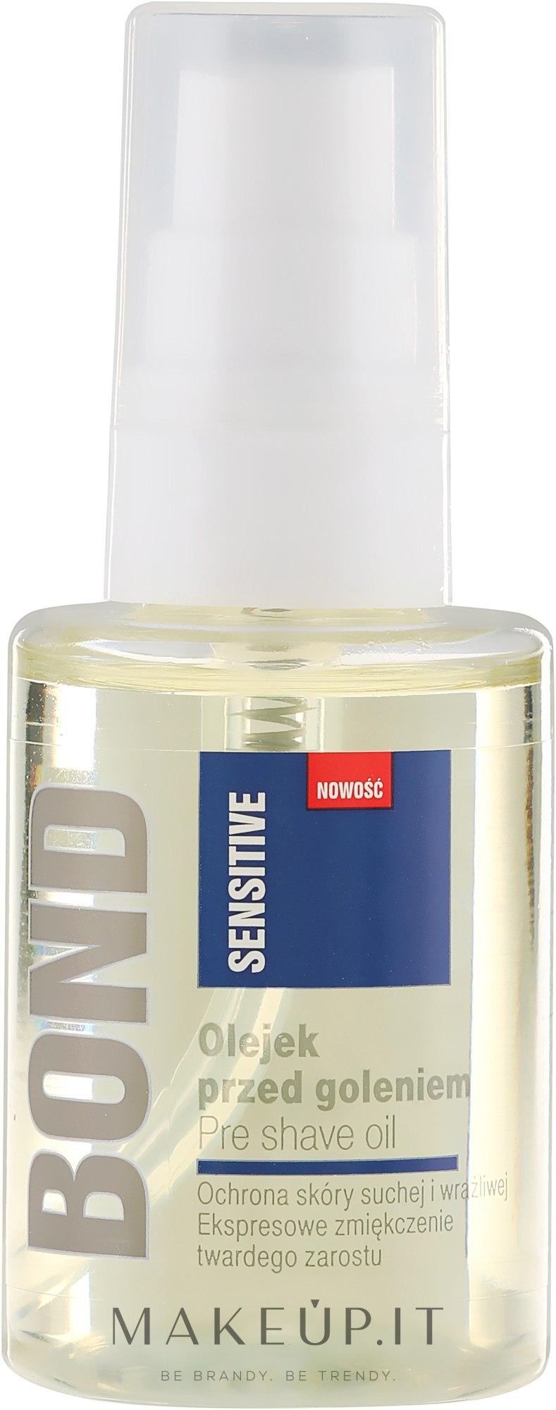 Olio prima della rasatura - Bond Sensitive Pre Shave Oil — foto 50 ml