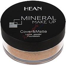 Profumi e cosmetici Cipria sfusa minerale - Hean Mineral Make Up Cover&Matte Loose Mineral Powder