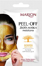 Profumi e cosmetici Maschera viso peel-off - Marion Golden Skin Care Peel-Off Mask