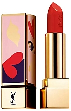 Profumi e cosmetici Rossetto satinato - Yves Saint Laurent Rouge Pur Couture Love Collector's Edition
