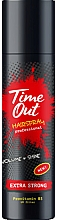 Profumi e cosmetici Lacca per capelli a tenuta extra forte - Time Out Hairspray Extra Strong Volume And Shine