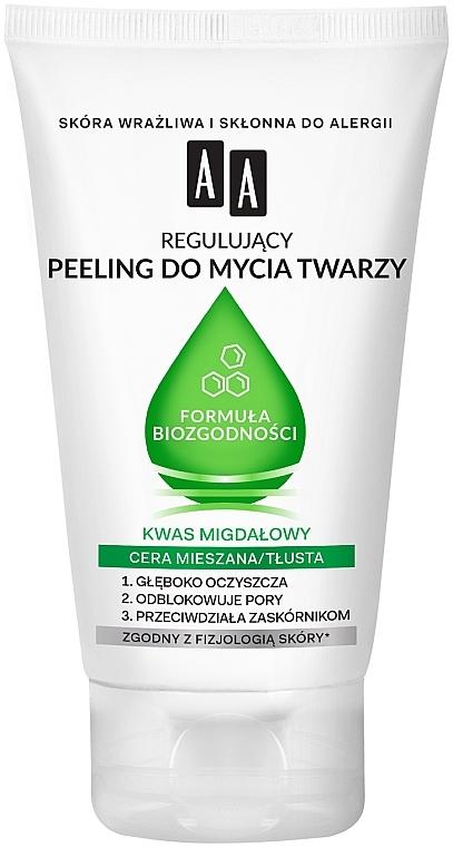 Scrub viso per pelli da miste a grasse - AA Biocompatibility Formula