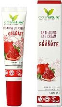 """Profumi e cosmetici Crema per palpebre """"Melograno"""" - Cosnature Eye Cream Pomegranate"""