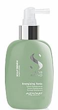 Profumi e cosmetici Tonico tonificante per capelli - Alfaparf Semi Di Lino Scalp Renew Energizing Tonic