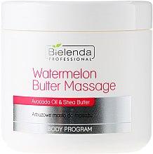 Profumi e cosmetici Burro corpo massaggiante - Bielenda Professional Watermelon Body Butter Massage