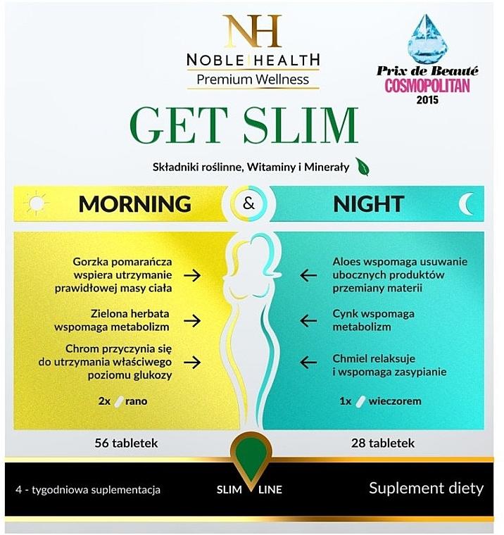 Complesso dimagrante, 84 pz - Noble Health Get Slim