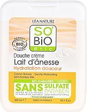 Profumi e cosmetici Crema doccia con latte d'asina - So'Bio Etic Cream Shower