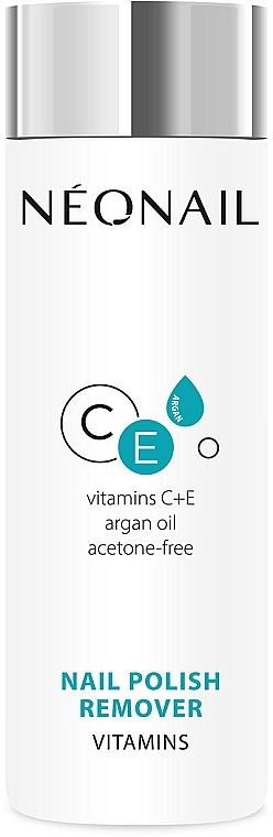 Solvente vitaminico per smalto - NeoNail Professional Nail Polish Remover