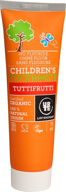 """Dentifricio per bambini """"Tutti-Frutti"""" - Urtekram Childrens Toothpaste Tuttifrutti"""