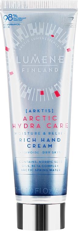 Crema mani idratante - Lumene Arctic Hydra Care Moisture & Relief Rich Hand Cream