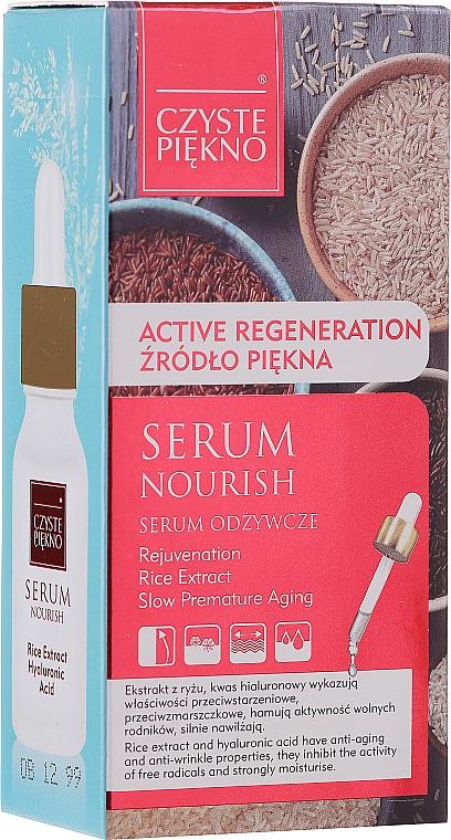 Siero viso nutriente con estratto di riso - Czyste Piekno Face Serum