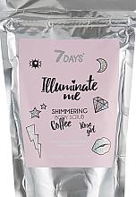 Profumi e cosmetici Scrub corpo scintillante al caffè - 7 Days Illuminate Me Shimmering Body Scrub