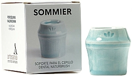 Profumi e cosmetici Portaspazzolino, blu - NaturBrush Sommier Toothbrush Holder