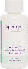 Profumi e cosmetici Collutorio concentrato a base di erbe - Apeiron Auromere Herbal Mouthwash Concentrate