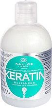Profumi e cosmetici Shampoo con cheratina e proteine del latte - Kallos Cosmetics Keratin Shampoo