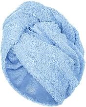 Profumi e cosmetici Asciugamano turbante, azzurro - MakeUp