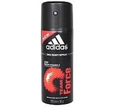 Profumi e cosmetici Adidas Team Force 24h Fresh Power Deo Body Spray - Deodorante-spray