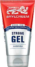 Profumi e cosmetici Gel per capelli a tenuta forte - Brylcreem Strong 24 Hour Hold Gel