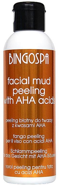 Peeling al fango per il viso, con acidi della frutta - BingoSpa