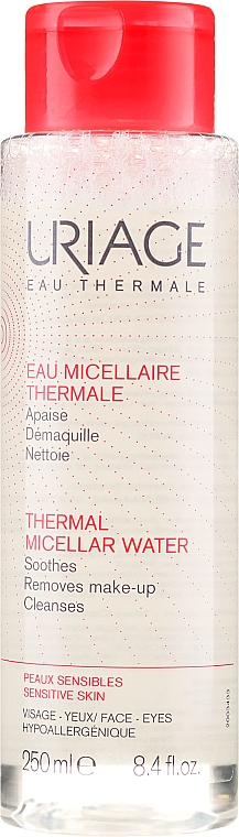 Acqua micellare termale - Uriage Eau Micellaire Thermale Remove Make-up Pink — foto N1