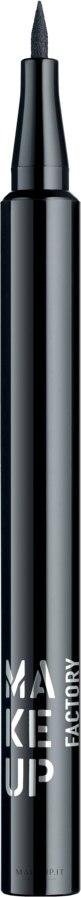 Eyeliner liquido - Make Up Factory Full Control Liquid Liner — foto 01 - Black
