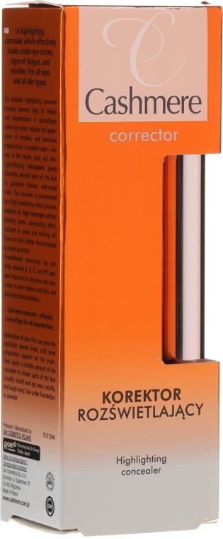 Concealer highlighter - Dax Cashmere Corrector Highlighting Concealer