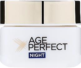 Crema nutriente, da notte - L'Oreal Paris Age Perfect ReHydrating Night Cream — foto N1