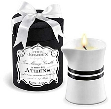 Profumi e cosmetici Candela da massaggio - Petits Joujoux A Trip To Athens Massage Candle