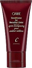 Profumi e cosmetici Condizionante per capelli colorati - Oribe Conditioner For Beautiful Color (mini)