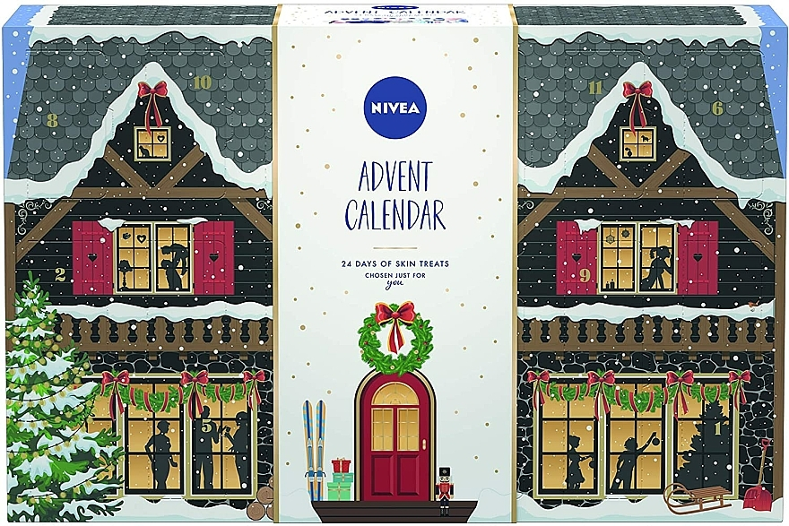 Set - Nivea Advent Calendar 2020 24 Days Of Skin Treats