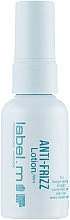 Profumi e cosmetici Lozione levigante capelli - Label.m Anti-Frizz Lotion
