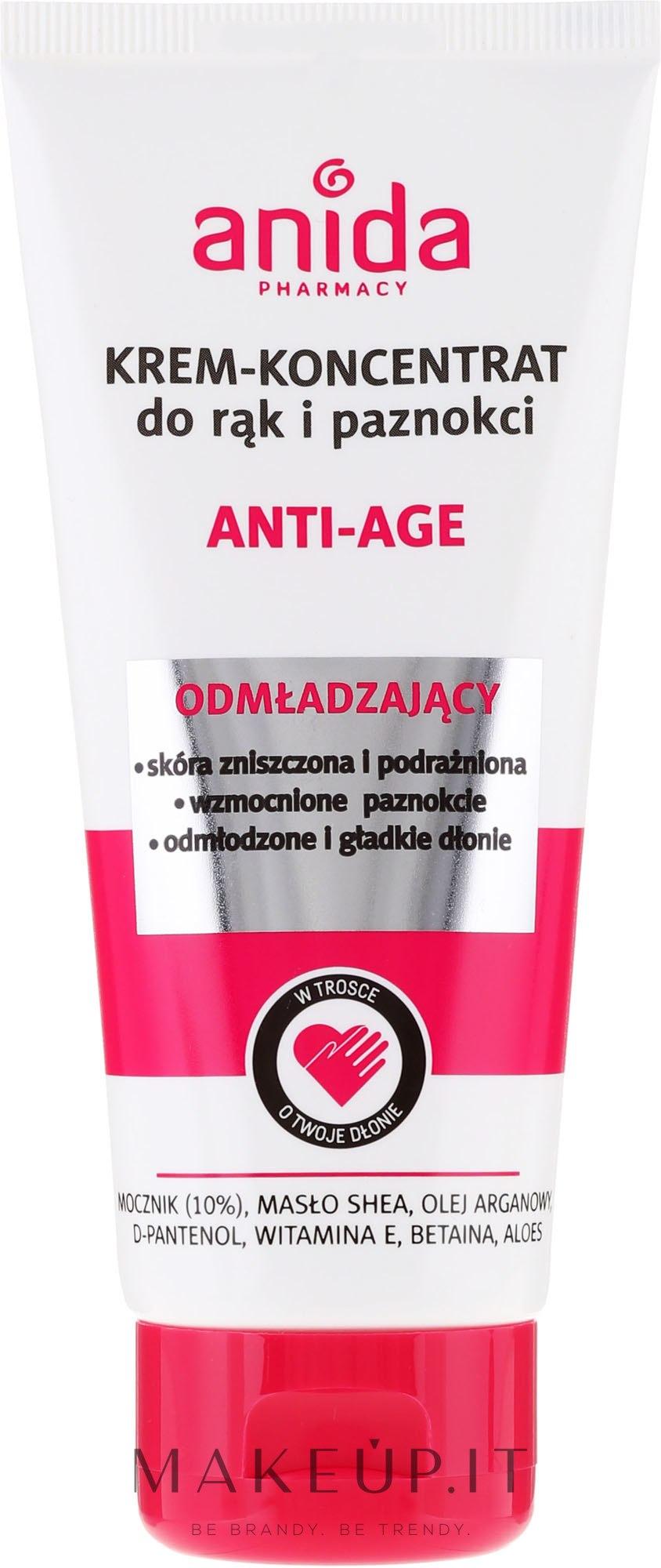 Crema mani e unghie - Anida Pharmacy Anti Age Hand Cream — foto 100 ml